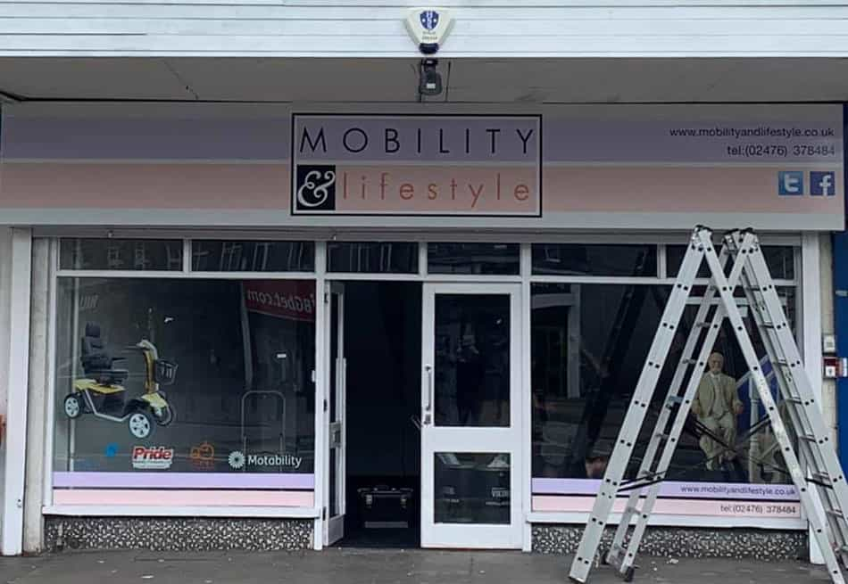 mobility and lifestyle coventry store almost complete