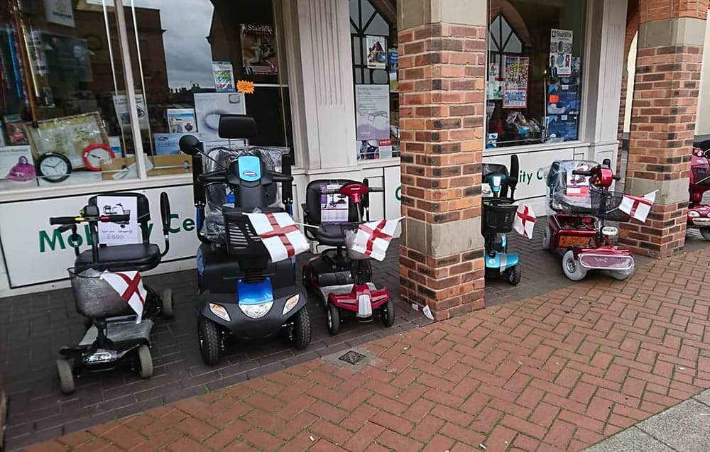 mobility shop Care Matters Mobility shop front in Newark