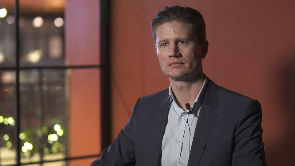 etac new CEO Fredrik Dalborg