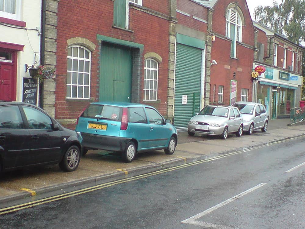 pavement parking image
