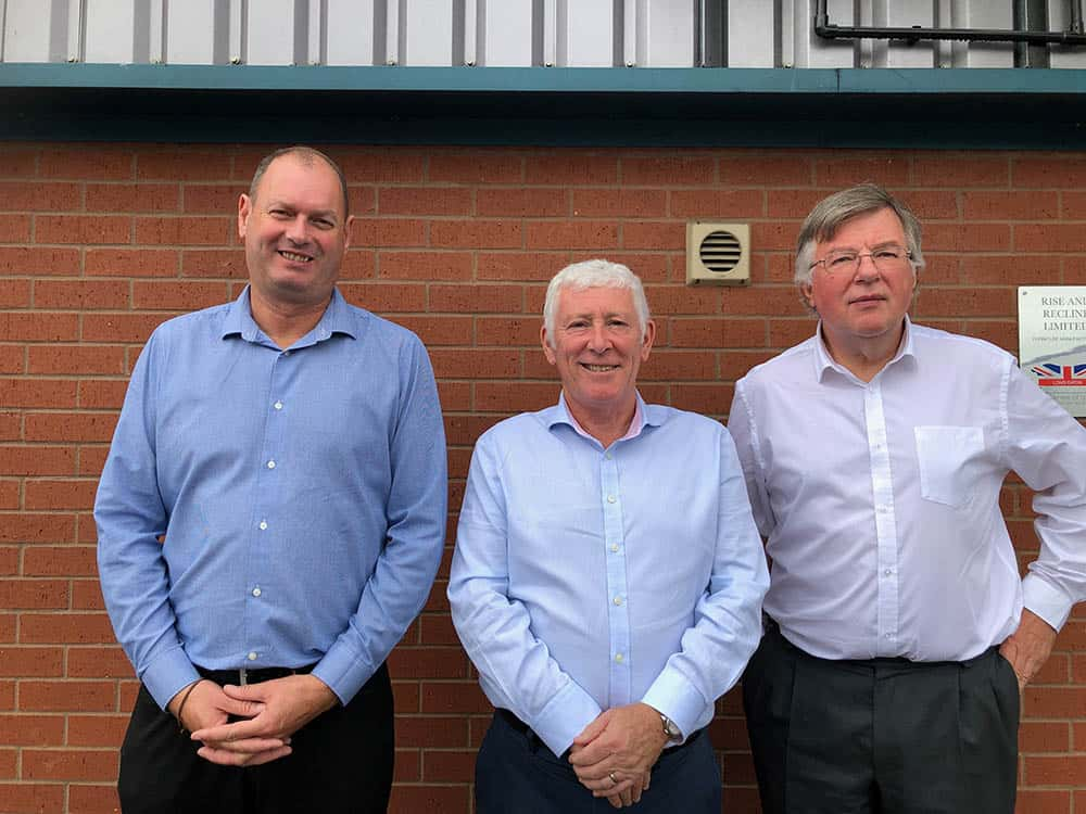 Rise & Reclines new MD with existing sales director
