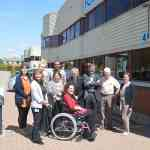 Fortuna Mobility Staff outside Enfield Showroom