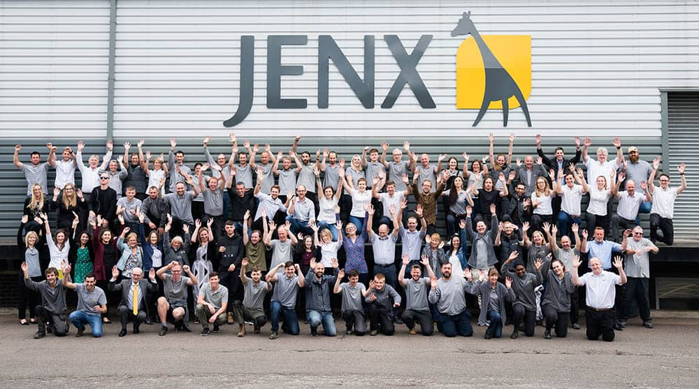 Jenx team shot