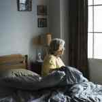 Stroke Survivor on bed alone stroke association