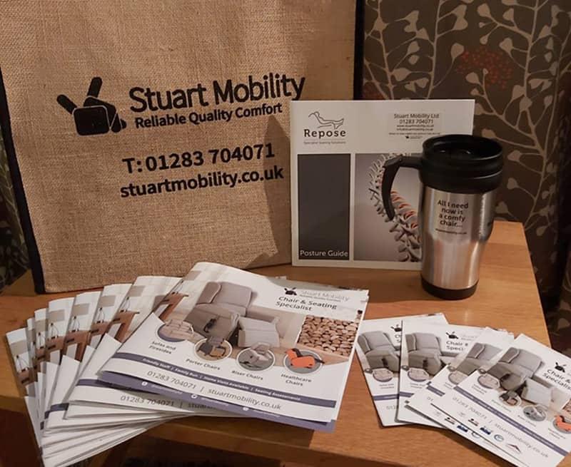 Stuart Mobility merchandising