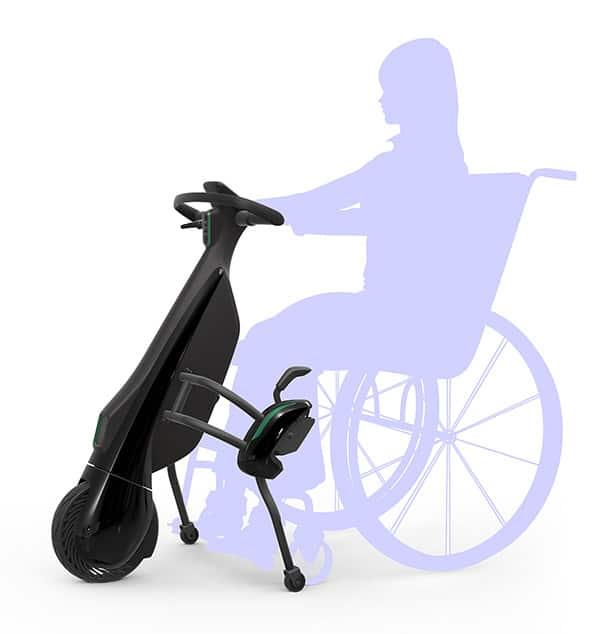 Toyota's Walking Area BEV Wheelchair-linked Type
