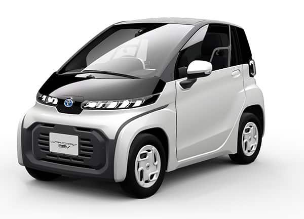 Toytoa ultra compact BEV