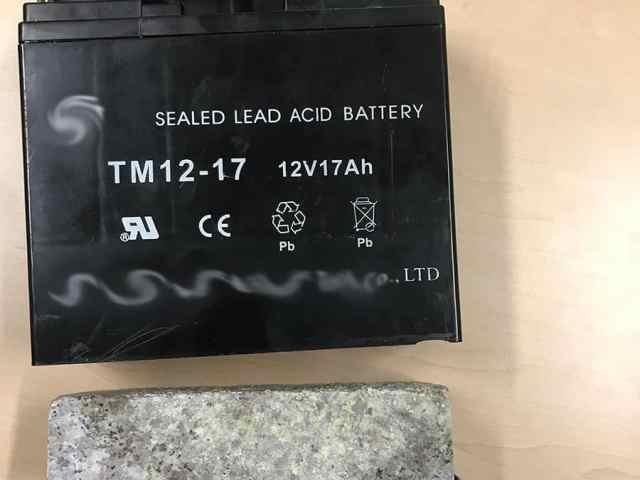 Battery - false bottom