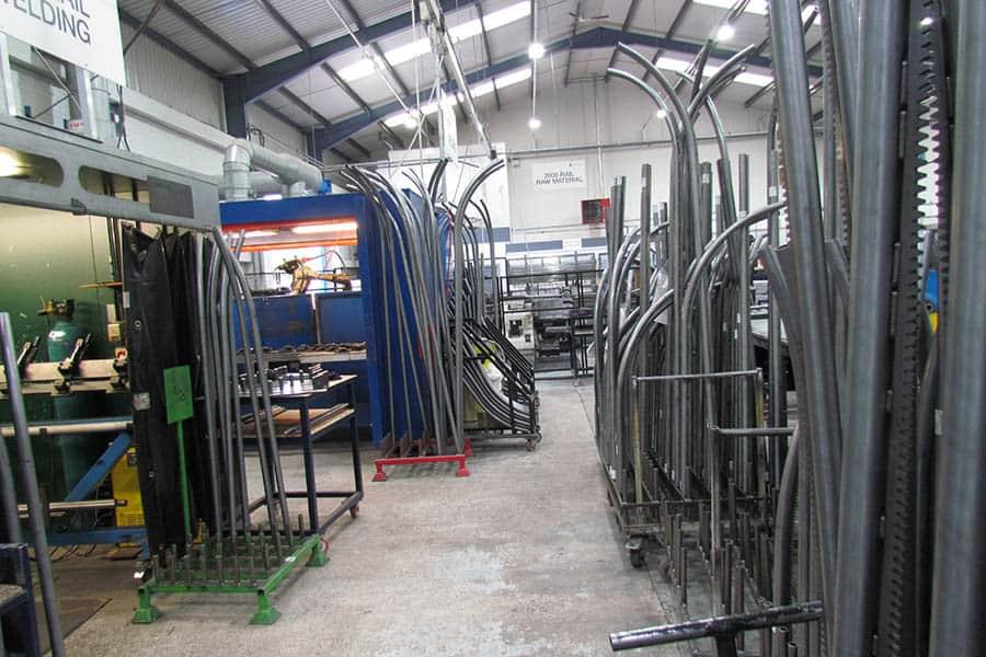Handicare Manufacturing Metal Rail Holding