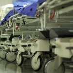 nhs winter pressures trolley in corridor BMA warning