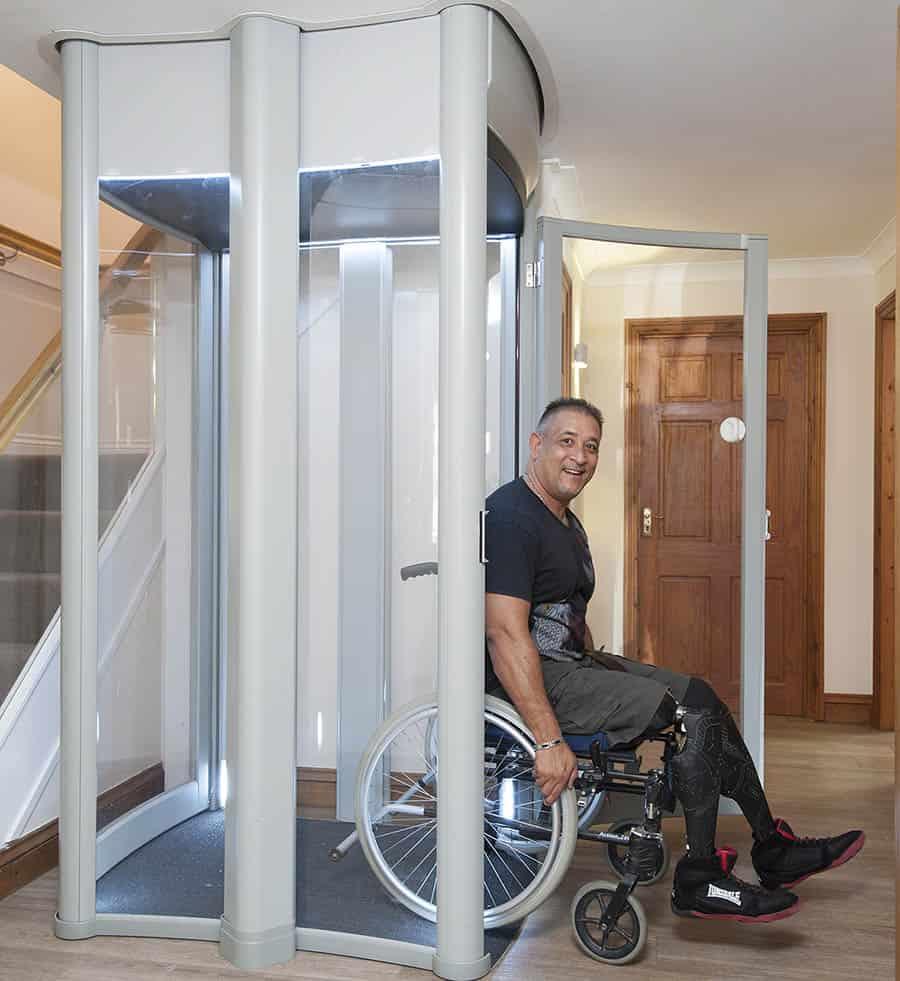 stiltz homelift full door