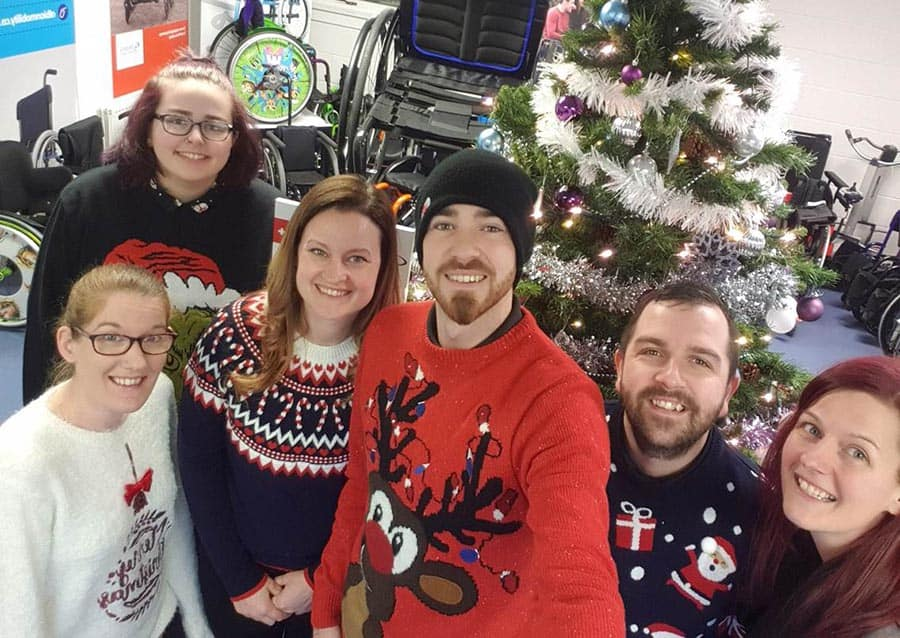 Albion Mobility Christmas Jumpers