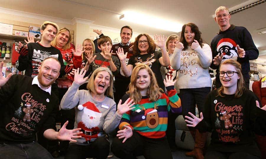 Clearwell Mobility Christmas Jumpers