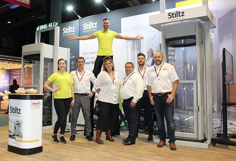 Stiltz OT Show team