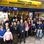 Warrington Disability partnership store front