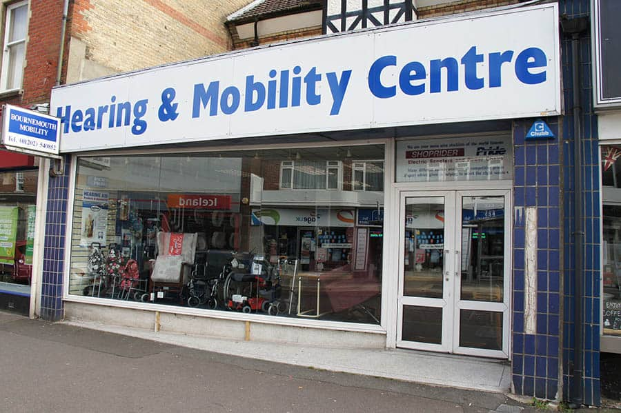 Hearing and Mobility Bournemouth store