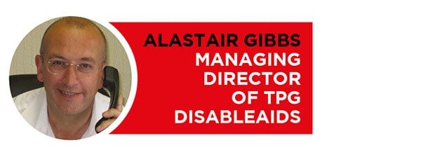 TPG DisableAids product of the year