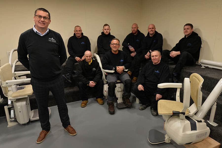 Dolphin Lifts Midlands new showroom