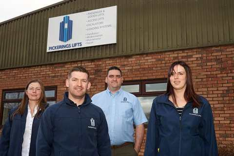 Pickerings Lifts Midlands Office