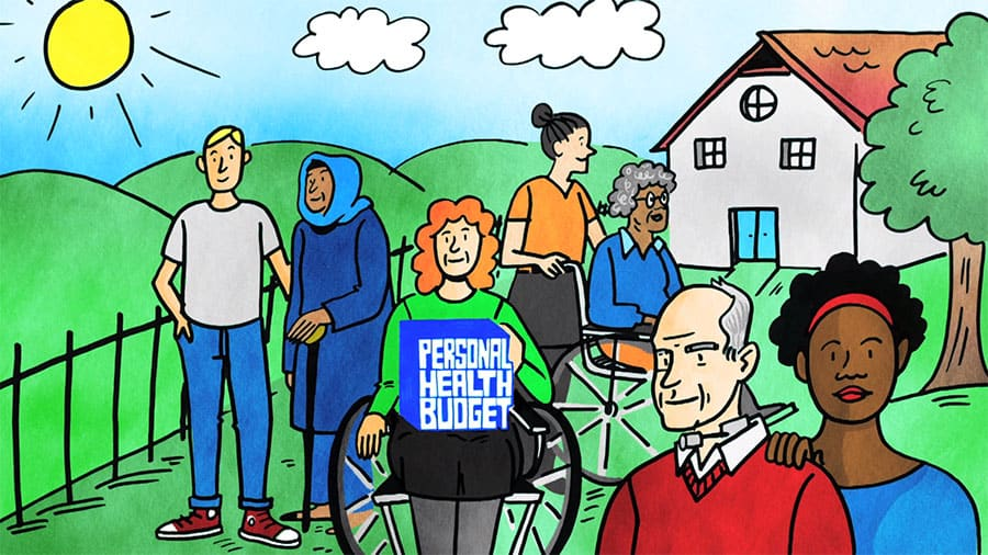 personal health budgets video