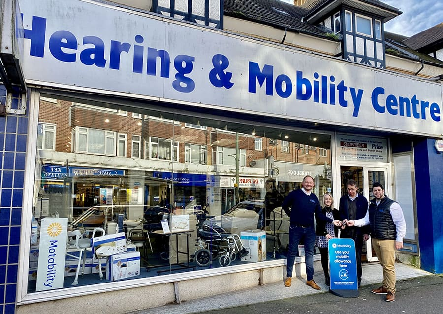 Hearing and Mobility store takeover by lifestyle and mobility