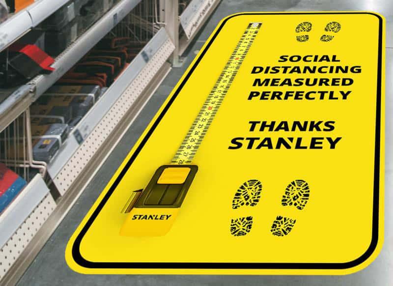 Marc Burnett concept signage stanley