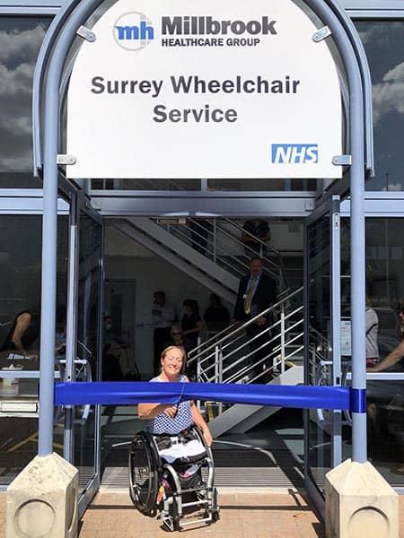 Surrey Wheelchair Service launch image