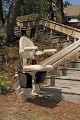 Outdoor Bruno Elite Stairlift image