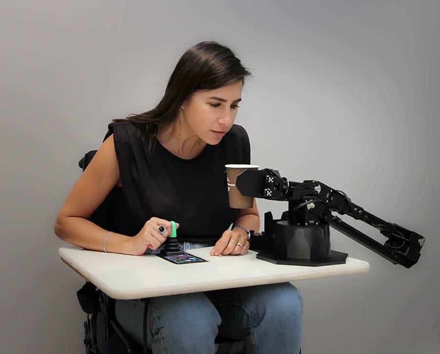 Intel assistive robotic arm image