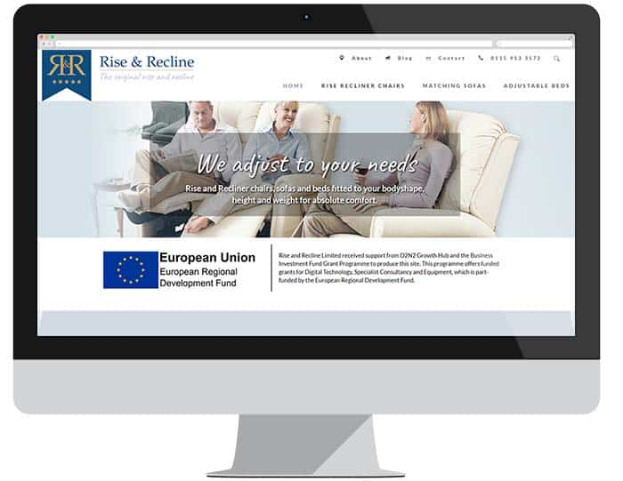Rise and recline new website