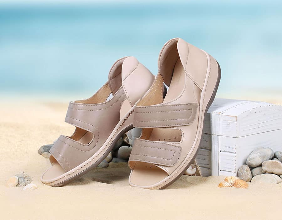 Cheryl Ladies Ultra Wide Sandals from Sandpiper image