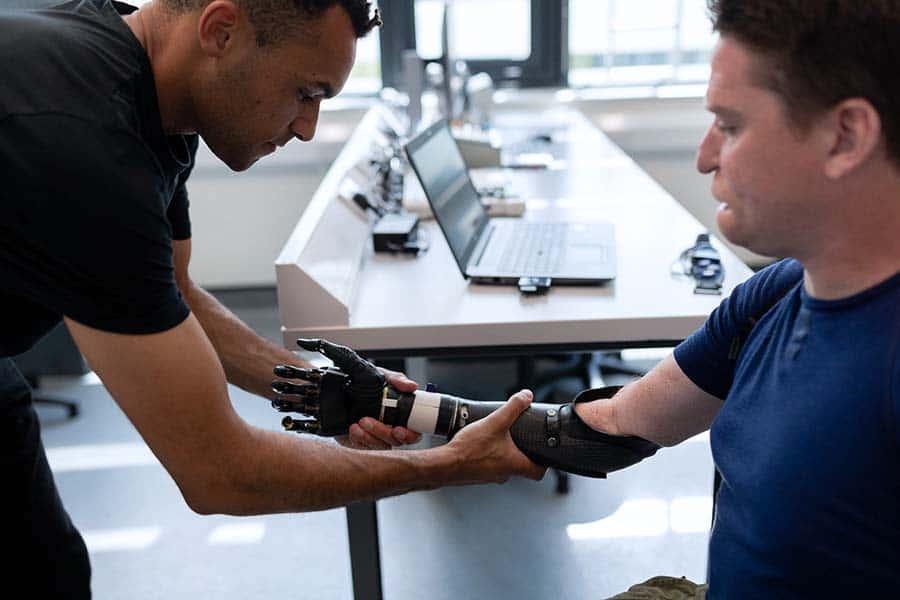 Engineer prosthetic limb