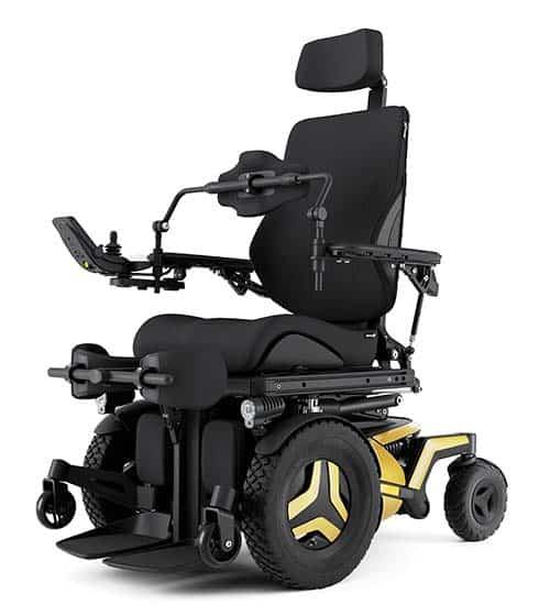 Permobil F5 VS powerchair