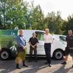 Snowdrop Independent Living team and van