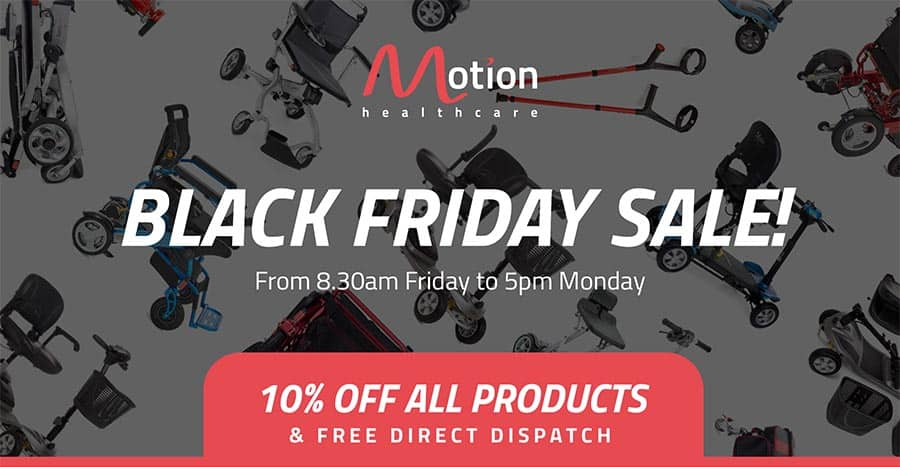 Motion Healthcare embraces Black Friday
