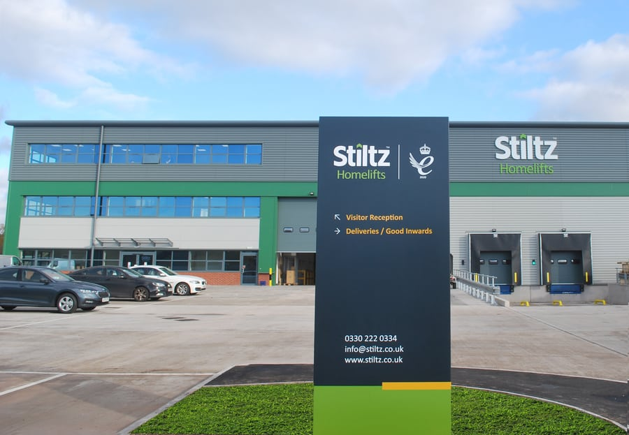 The new HQ for Stiltz