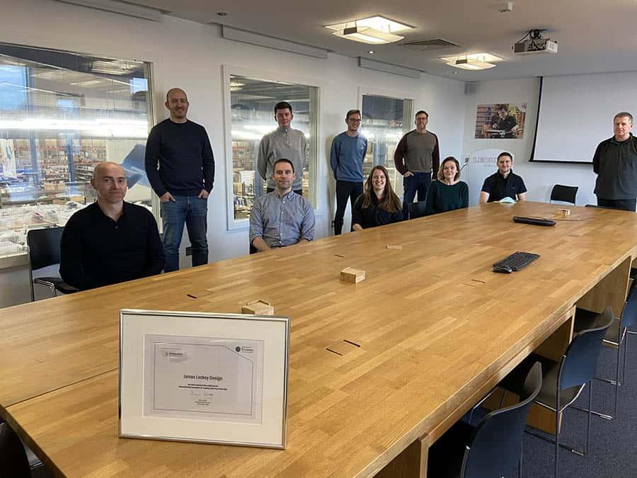 Leckey awarded Platinum Level Innovator Status by Innovate NI image