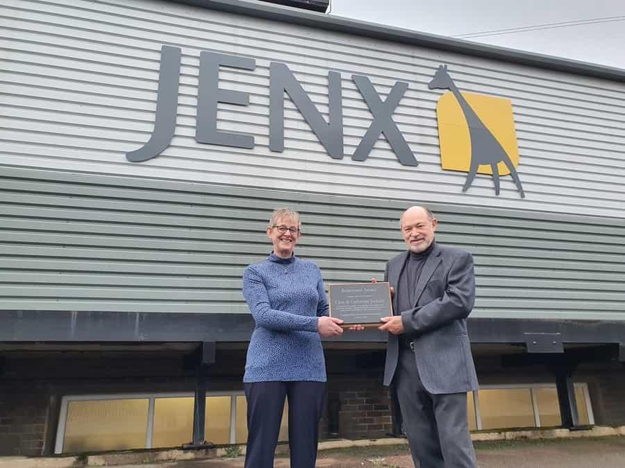 Jenx-Jiraffe co-founders
