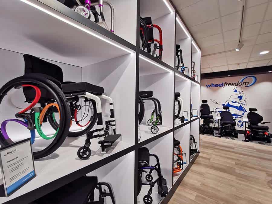 Wheelfreedom displays