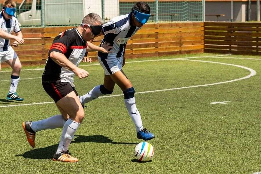 Learn with ESS blind football