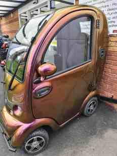 Modern Mobility stolen cabin car scooter