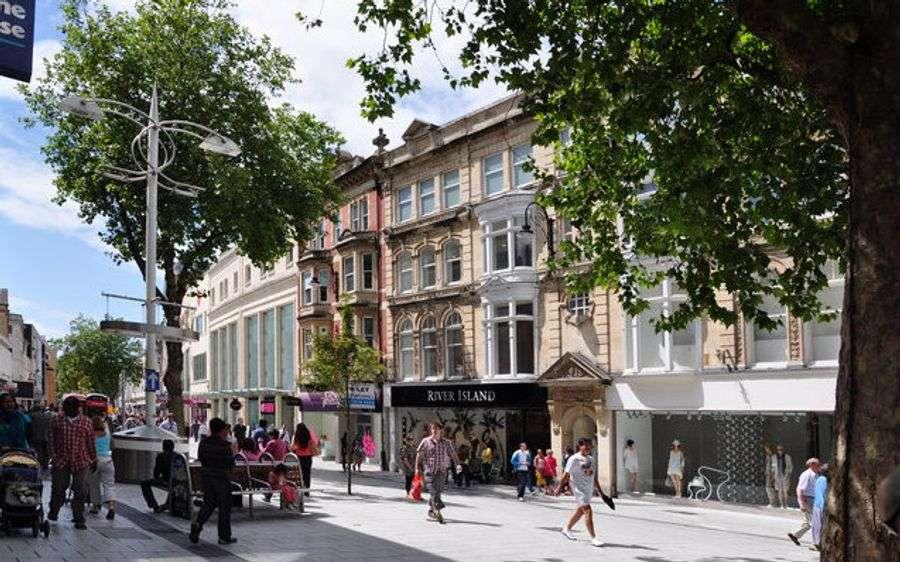 Cardiff's Queen Street