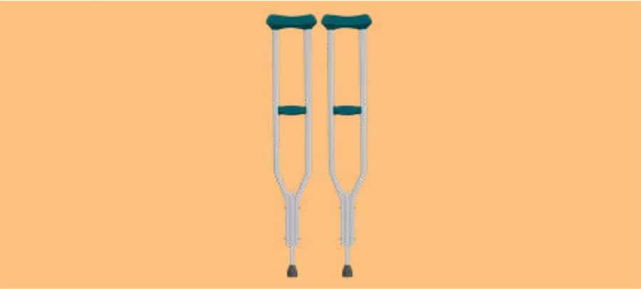 Axilla crutches image