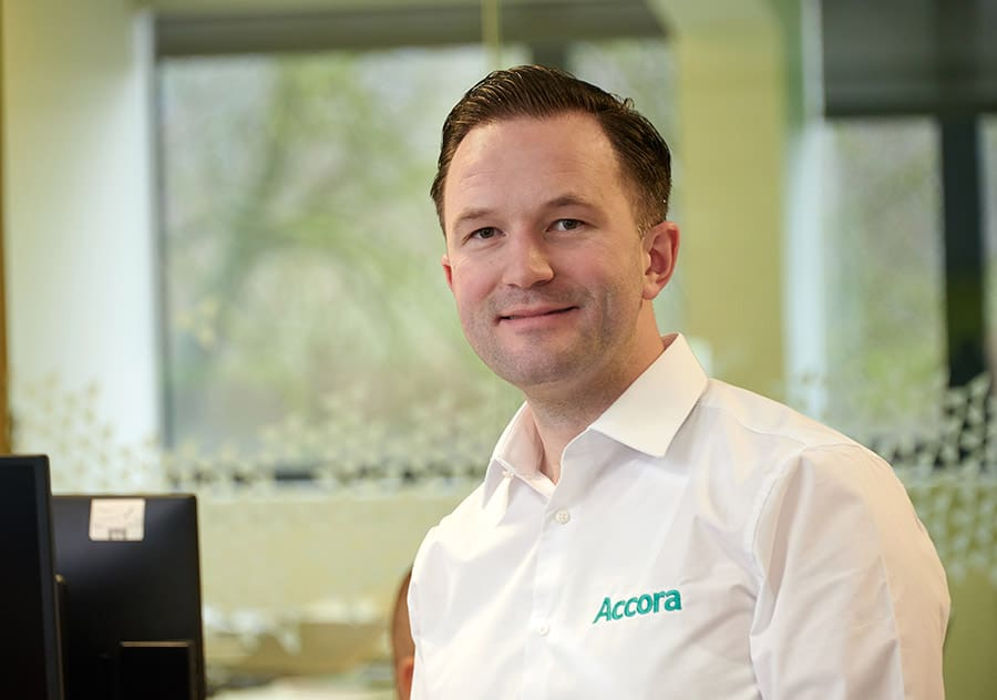 Richard Smith, Sales Director for Accora, image