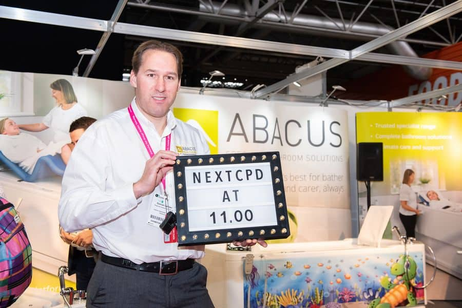 Duncan Latimer, Regional Assessment Manager for Abacus Specialist Bathroom Solutions.