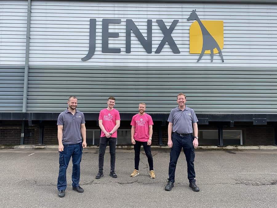 Jenx staff complete half marathon for Paces image