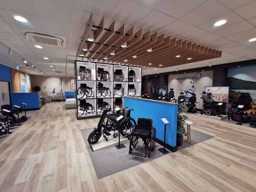 Wheelfreedom showroom