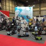 Electric Mobility show stand at Naidex