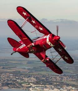 RMS acrobatic flying