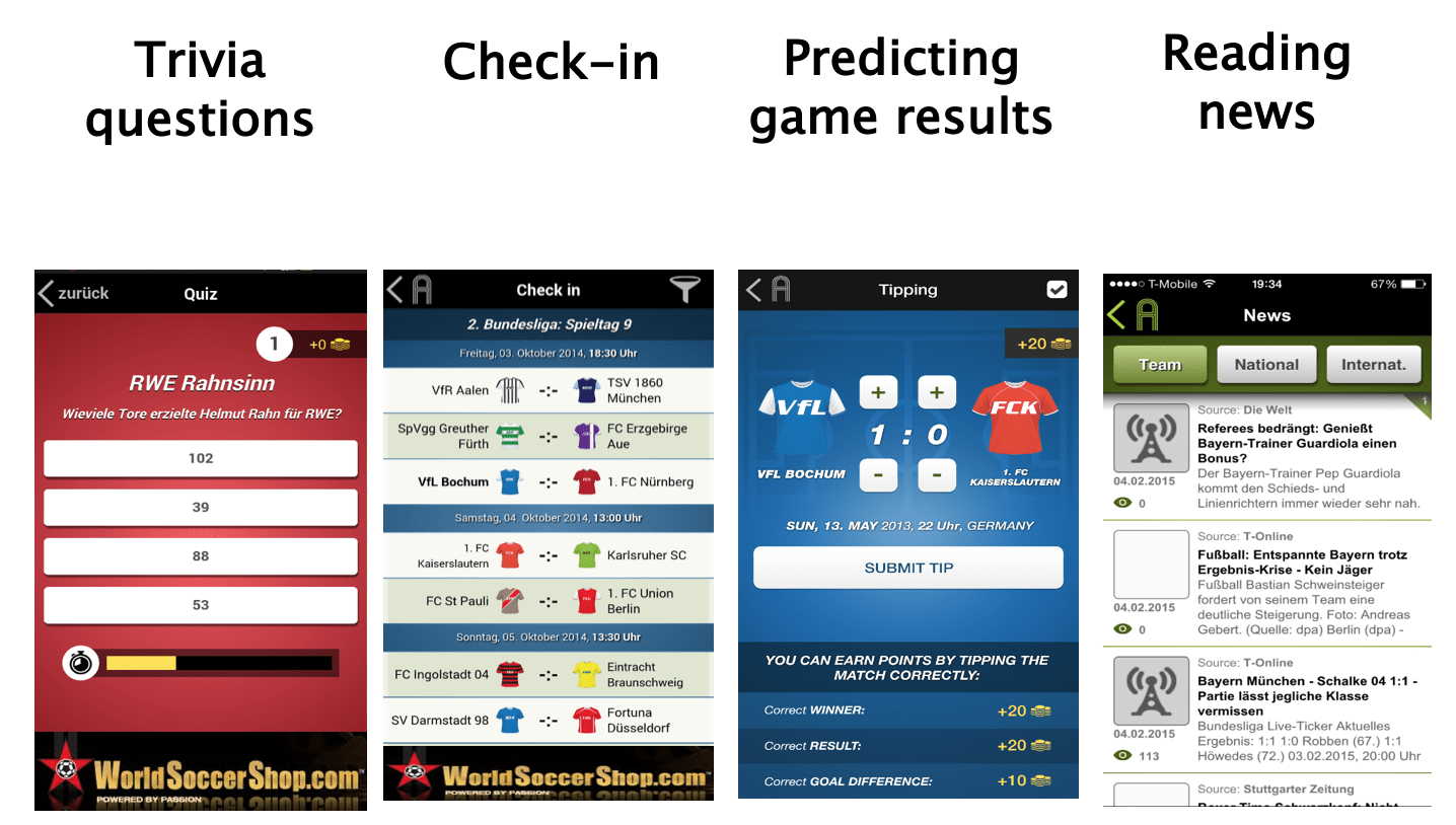 Gamified Sport App